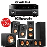 Yamaha RX-A2050 AVENTAGE 9.2-Channel Network AV Receiver Plus + A Klipsch Reference Premiere Dolby Atmos Enabled 5.1 Speaker Package (RP-280FA + RP450CA + RP140SA + R112SW)