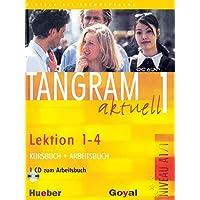 Tangram 1 Textbook + Workbook + CD, Lektion 1 - 4