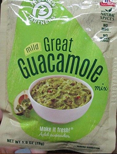 Produce Partners Guacamole Mix  Mild  1 Oz  Pack Of 12