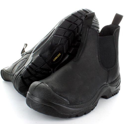 Pour Outdoorlook Homme De Black Chaussures Sécurité qBx6vxwgt