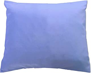 product image for SheetWorld - Baby Pillow Case - Percale Pillow Case - Light Solids - Baby Blue - Made In USA