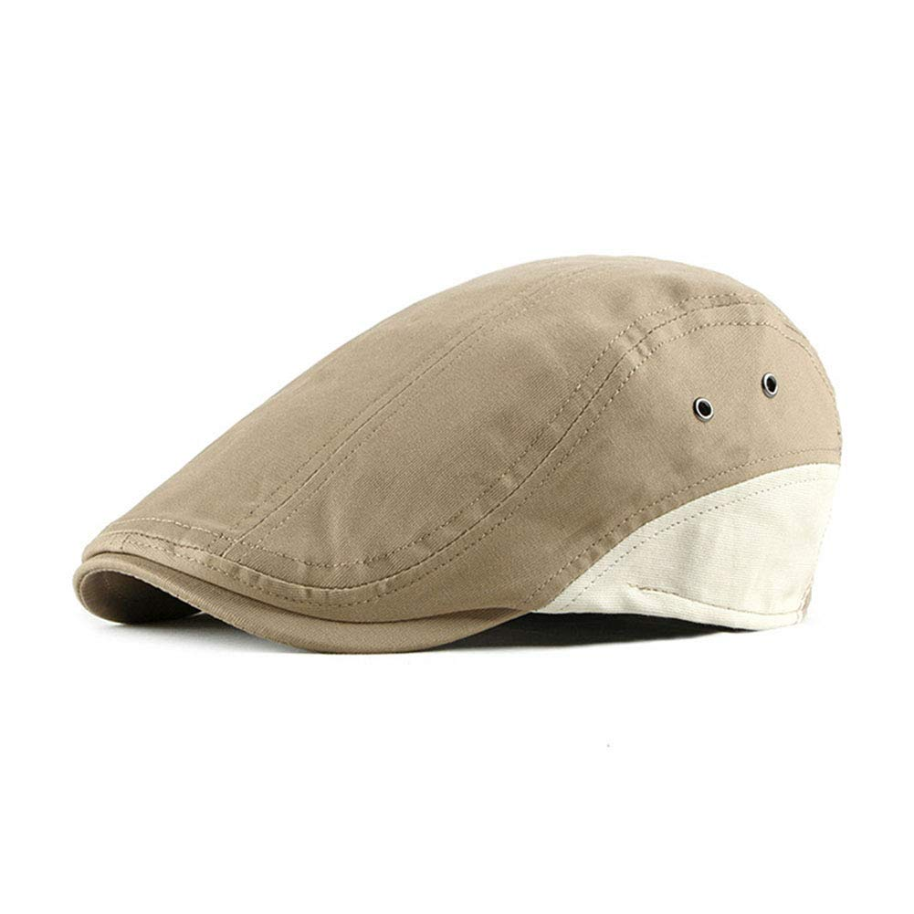 Anshili Uomo Cotone Cappello Flat cap Beret Primavera