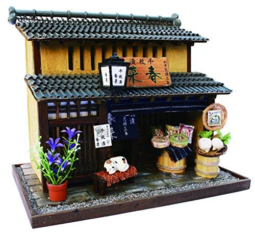 Billy handmade Dollhouse Kit Kyoto series Kyomachiya Kit II pickles shop 8503 (japan import)