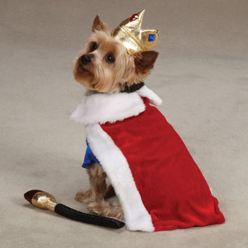 Zack & Zoey Royal Pup Dog Costume, X-Large, Red/Blue by Zack & Zoey (Image #2)