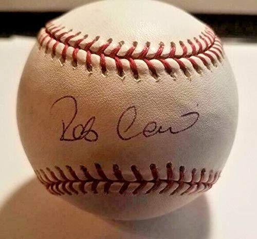 Robinson Cano New York Mets Hand Autographed Signed Baseball With JSA COA - Authentic Memorabilia ()