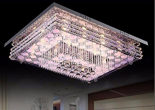 Plafoniere Rettangolari Cristallo : Yxhflo il soggiorno camera da letto lampada soffitto luce