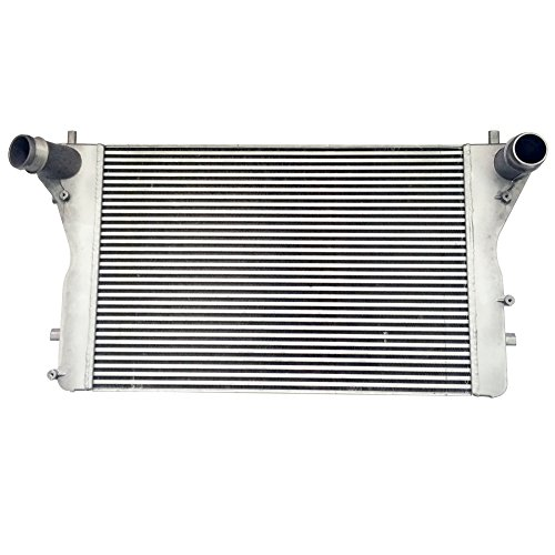 (JSD AUTOPARTS Q019 Aluminum Intercooler for Audi TT Quattro A3 1K0145803P)