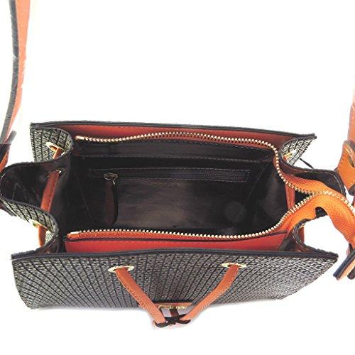 Kreative tasche Ted Lapidusbraun orange - 30.5x26x15 cm.