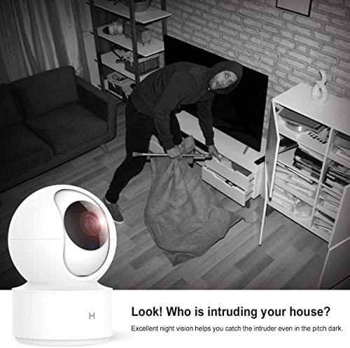 1080P Wireless Smart Home Indoor Baby IP Security Camera IMILAB,2.4Ghz WiFi Surveillance Dome Camera Pet Nanny Monitor with Two-Way Audio,HD Night Vision,Pan/Tilt,Remote View Support Max 256GB SD… 51Tw3i2TmhL