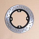 Wotefusi Motorbike Rear Brake Disc Rotor For Honda CBR250 MC22 CBR400 MC29 CBR1000 2004-2010 2005 2006 2007 2008 2009 CBR600 F5 2003-2010 CBR900 954 2002-2003 VTR1000 1998-2005 1999 2000