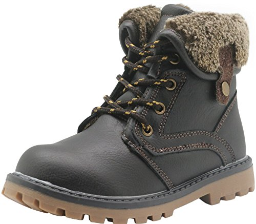 Image of Apakowa New Boy's Winter Martin Boots (Toddler/Little Kid)