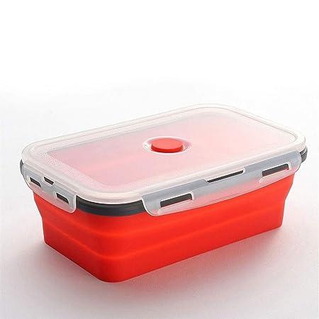 SX1560 De Silicona Plegable Caja de Almuerzo de ...