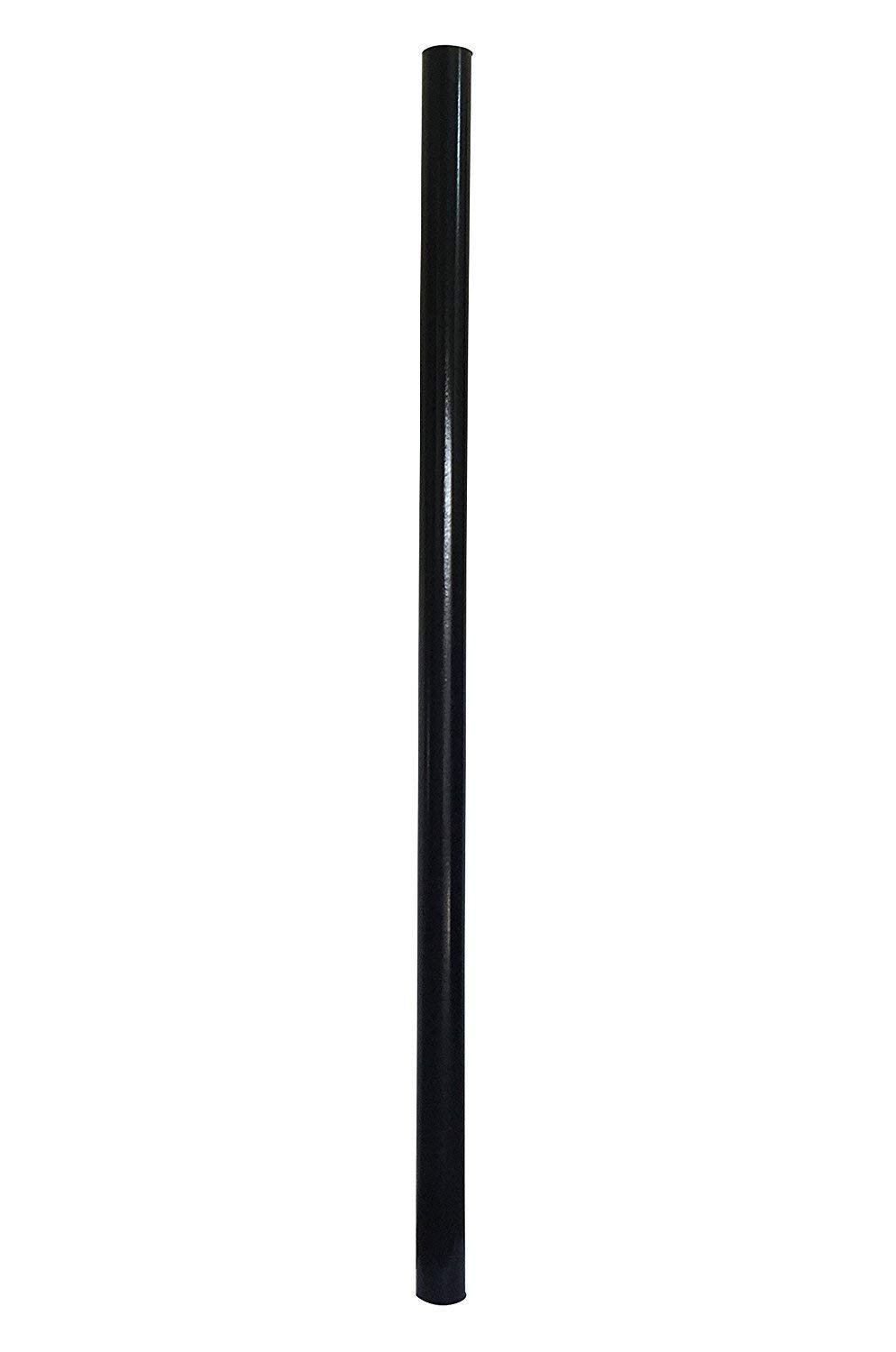 Espero 84-in Outdoor Lamp Post with Fiberglass Light Post for Yard Driveway,Black