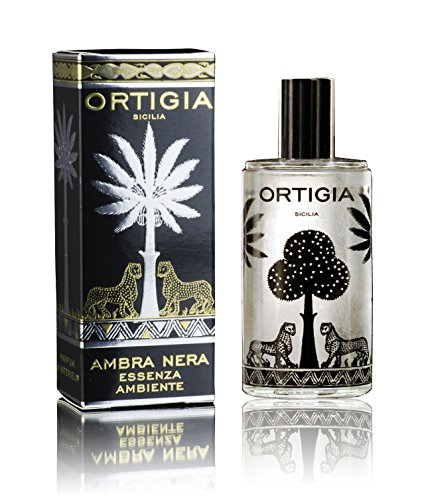 Room Spray Natural Home Fragrance Ortigia Italian Amber & Musk 3.3 oz. by Ortigia
