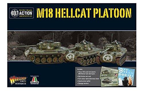 Bolt Action Hellcat Platoon Box - Plastic ()