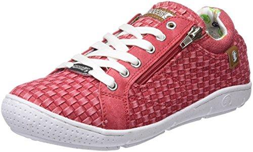 Coronel Tapioca Lona Chica Pasados Rojo, Zapatillas de Senderismo Para Mujer Rojo (Rojo 0)