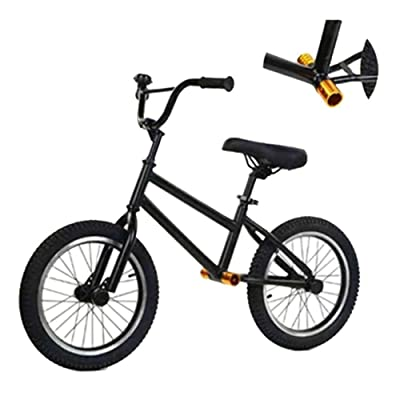 CHENNAO Balance Bike 16 Inches Black、High Carbon Steel Tripod,Balance Bike for Carry Often Out-of-Home,No Pedal Walking Bicycle with Non-Slip Grip: Home & Kitchen
