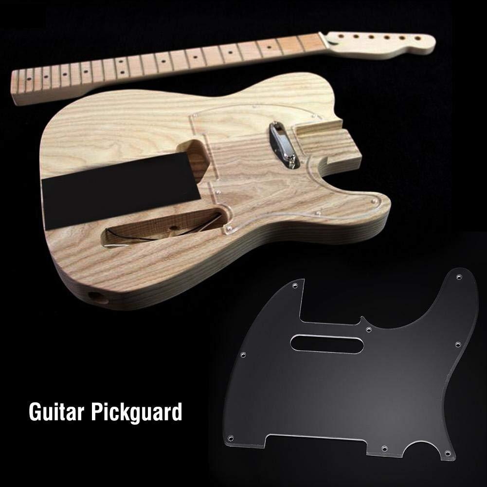 Dilwe Pickguard para Guitarra, Transparente Acrílico Pickguard con ...