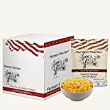Patriot Pantry Country Cottage Mac & Cheese Case Pack (24 servings, 6 pk.) Bulk Emergency Storage Food Supply, Up to 10-Year Shelf Life