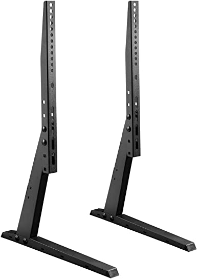 Impact Mounts Universal TV Stand Base Tabletop VESA Pedestal Mount for LCD LED TV 37-70 Solid FEET, Superior Structure for 37 -70 TV