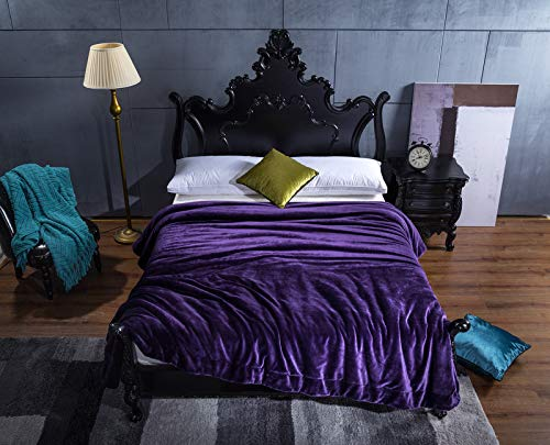 Mjdynasty Blanket-Methode, Samt Verdickung, Fleece-Decke, Composite-Decke, Warm und lässig, lässig, lässig, Traum Lila, 100  120 B07G881KGY | Wirtschaft  78fa68