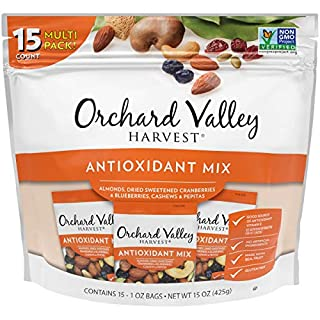 ORCHARD VALLEY HARVEST Antioxidant Mix, 1 oz (Pack of 15), Non-GMO, No Artificial Ingredients