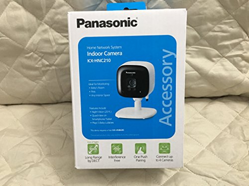 Panasonic Indoor Camera - PANASONIC Home Monitoring System Indoor Camera - KX-HNC210W Add-on