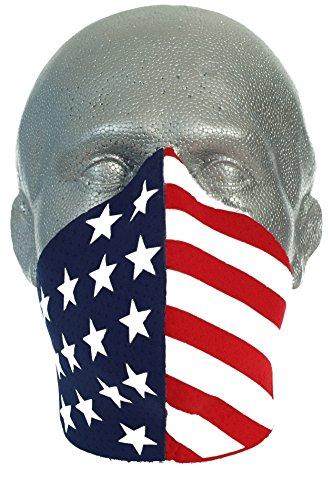 Bandero Biker Mask Patriot ()