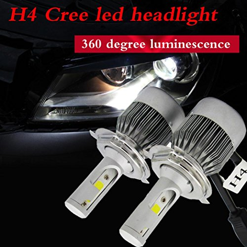 110w Solar Kit (DZT1968 1 Set 110W 20000LM H4 CREE LED Light Headlight Kit Car Hi/Lo Beam Bulb Kit 6000k 12V)