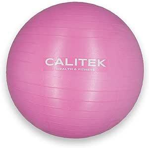 CALITEK - Pelota suiza para yoga, pilates, embarazo y nacimiento ...