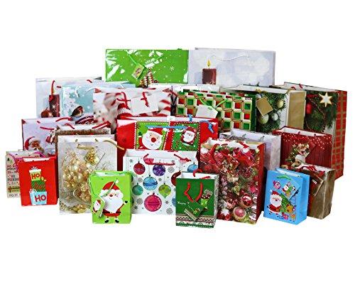 Christmas Gift - Iconikal Christmas Print Gift Bags 23-Count