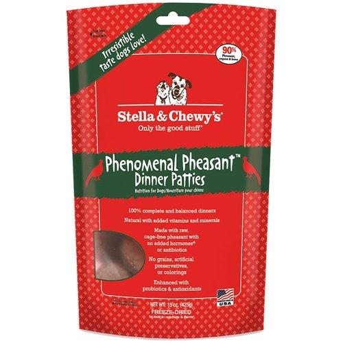 Stella & Chewy's Raw Freeze-Dried Dog Pheasant 15 oz
