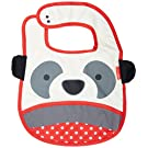 Skip Hop Zoo Tuck Away Bib, Panda