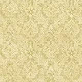 Brewster FFR19359 Neutral Cottage Damask Wallpaper, Neutral Damask