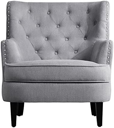 Millbury Home Chris Anna Tufted Upholstered Club Chair