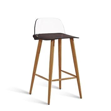 Remarkable Gzd Tall Stool Modern Kitchen Stools With Metal Legs High Creativecarmelina Interior Chair Design Creativecarmelinacom