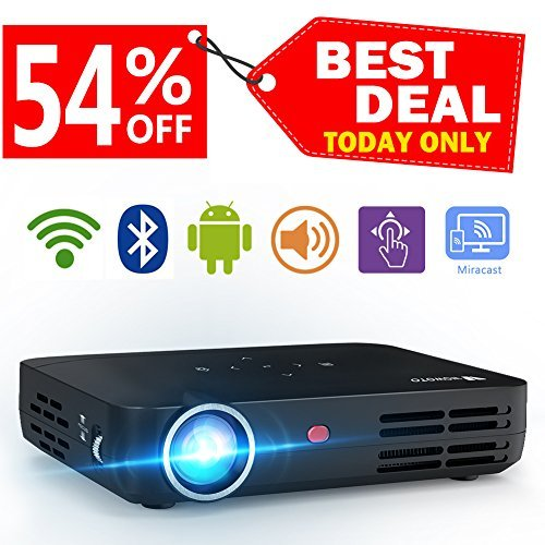 WOWOTO H8 Video Projector DLP LED