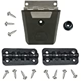 Igloo Cooler Replacement Hybrid Stainless/Plastic Latch & Hinge Set