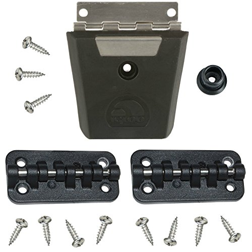Igloo Cooler Replacement Hybrid Stainless/Plastic Latch & Hinge Set by Igloo