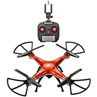 Howley SHENGKAI D99A RC Quadcopter Drone WIFI FPV 2MP Camera 2.4G 4CH 6Axis/Waterproof Helicopter (Orange)