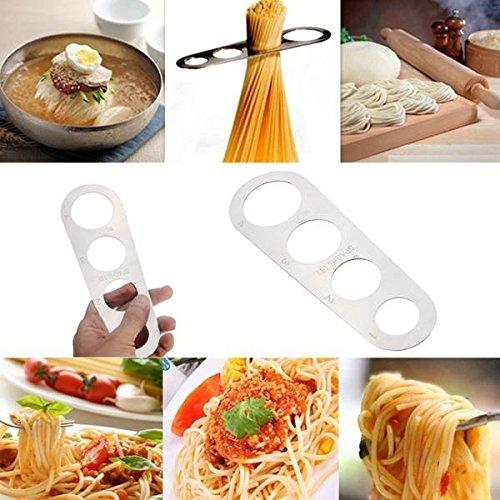 Saver Stainless Steel Pasta Ruler Spaghetti Measurer Noodles Limiter Measuring Tool