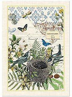 Amazon.com | Michel Design Works Garden Bunny Cotton Kitchen Towel ...