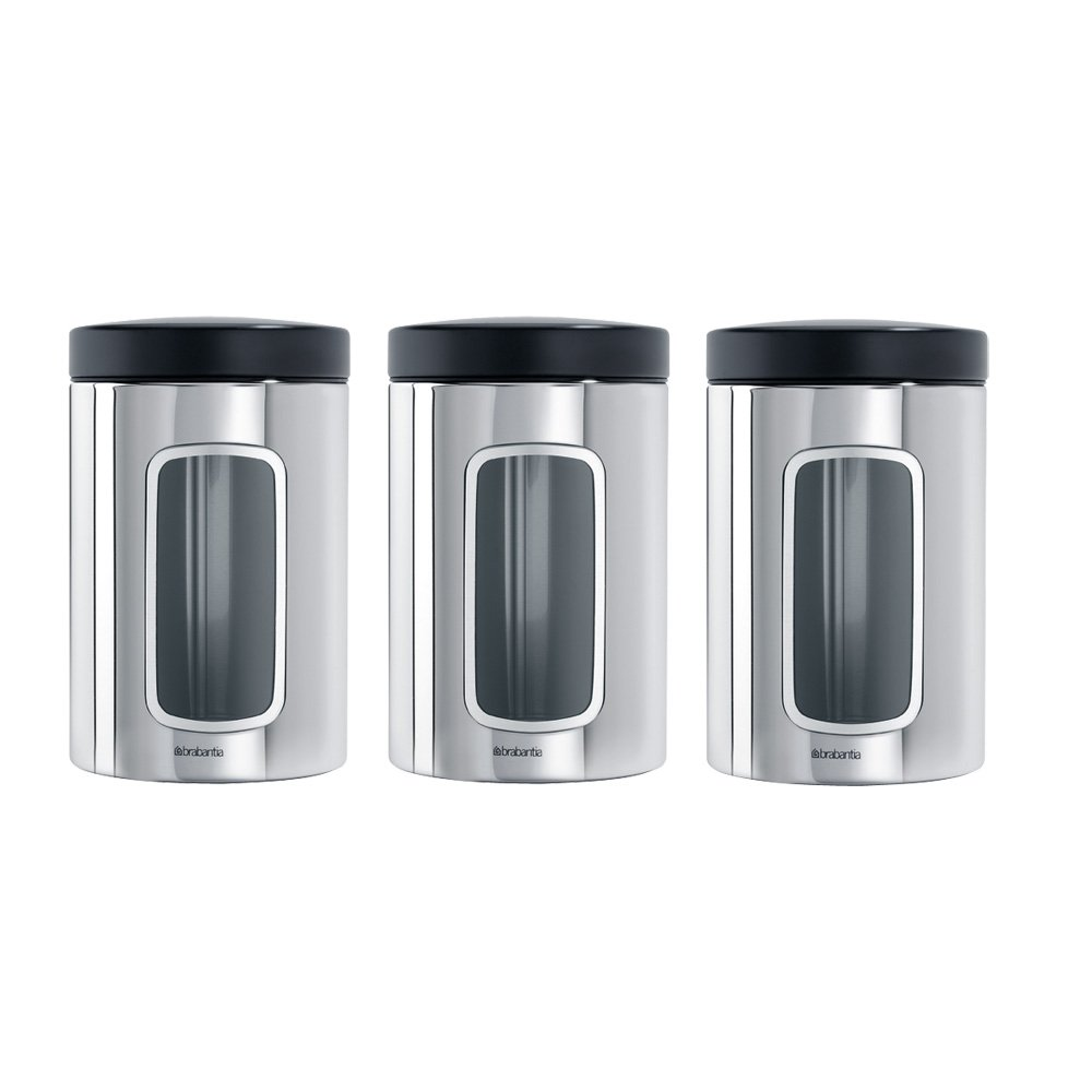 Brabantia 380341 Fensterdose, 1,4 L (3er-Set): Amazon.de: Baumarkt
