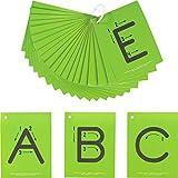 Really Good Stuff Sandpaper Tactile Letters: Uppercase