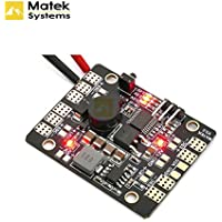 Matek Systems LED Power Distribution Board &Power Supply Board + Low Voltage Alarm Tracker Radio Control Led For Quadcopter FPV