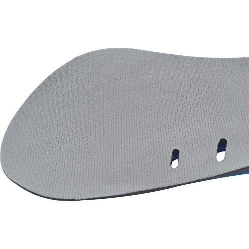 3/4 Longitud Unisex Transpirable Sudar-Absorbente Suave Cómodo Engrosadas Plantillas para Protegen Sus Pies También Eliminar la Presión Del Dolor L (24cm) S (21.3cm)
