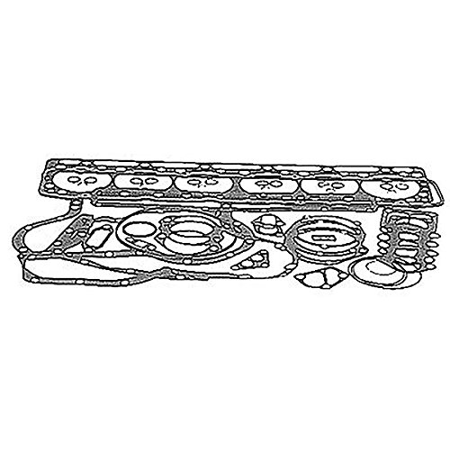 HS3887 New Upper head Gasket Set 6 Cylinder Diesel Made To Fit John Deere
