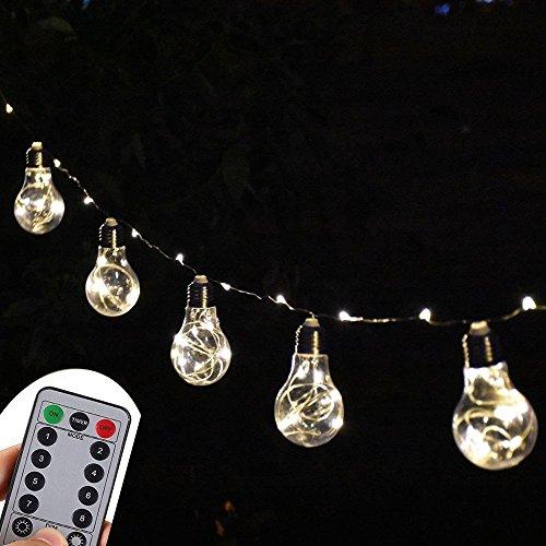 Clear Led Filament String Lights - 5