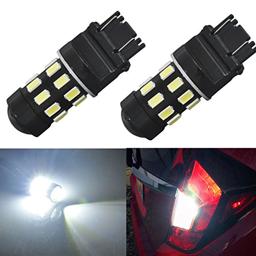 JDM ASTAR 960 Lumens Super Bright 5730 Chipsets 3056 3156 3057 3157 LED Bulbs with Projector,Xenon White (2003 Tahoe Running Lights compare prices)