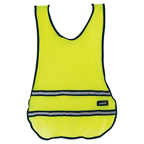 Tactical High Vis Reversible Jacket (AVIA Fitness High Visibility Safety Runner's Vest - Yellow (Available in more Colors))
